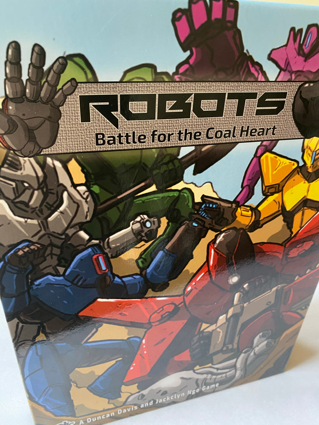 Robots Battle For The Coal Heart | Sherwood Games - Kickstarted Games