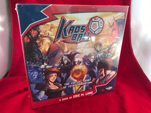 Kaosball Sports Fantasy Game | CMON Games | *Dent & Ding Box* - Kickstarted Games