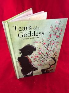 Tears of A Goddess - Pick Your Path Adventure Graphic Novel - Kickstarted Games