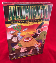 Load image into Gallery viewer, Illuminati - Game of Conspiracy | Steven Jackson Games |  2nd Ed | 2-6 Players - Kickstarted Games