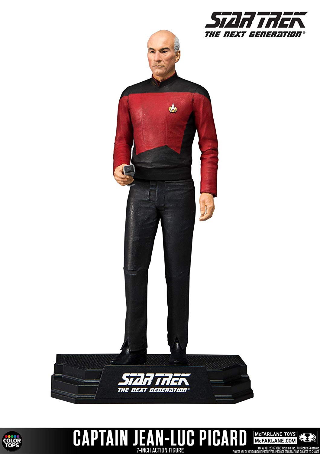 McFarlane Star Trek Captain Jean-Luc Picard Collectible 7