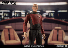 "Load image into Gallery viewer, McFarlane Star Trek Captain Jean-Luc Picard Collectible 7"" Action Figure - Kickstarted Games"