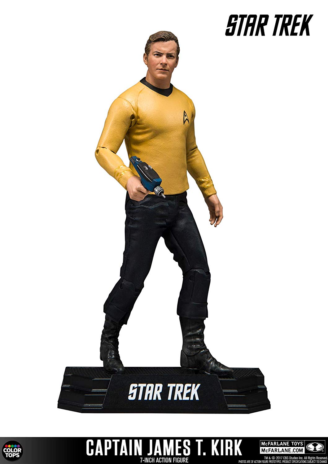 McFarlane Star Trek Captain James T. Kirk Collectible 7
