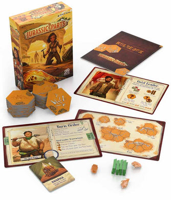Jurassic Parts Kickstarter Exclusive Plus Stretch Goals + Bonus - Kickstarted Games