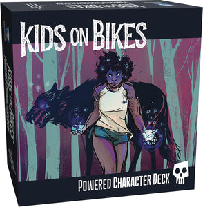 Kids On Bikes Rpg Powered Character Deck - Kickstarted Games