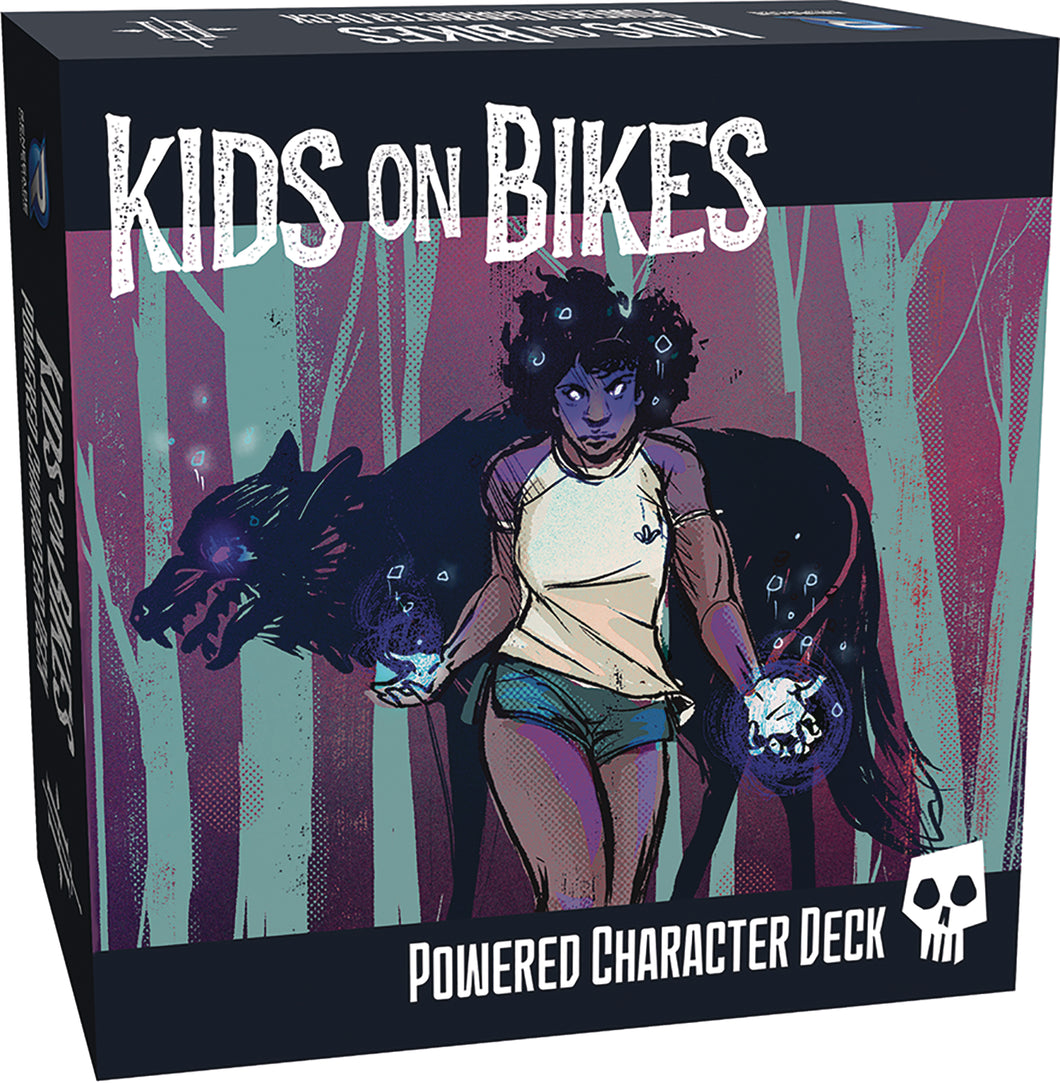 Kids On Bikes Rpg Powered Character Deck | Renegade Game Studios - Kickstarted Games