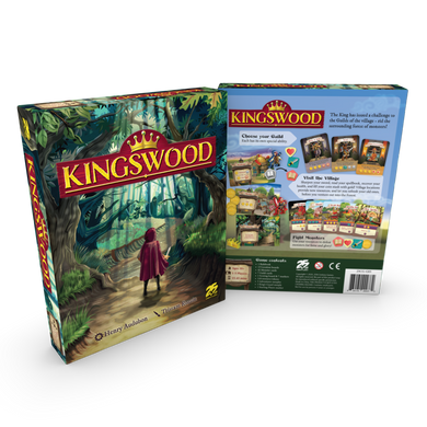 Kingswood Official Kickstarter Royal Edition (Deluxe) - Kickstarted Games