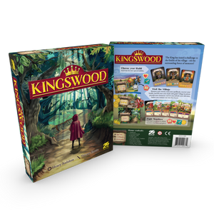 Kingswood Kickstarter Regular Edition Plus Stretch Goals & Metal Coin - Kickstarted Games
