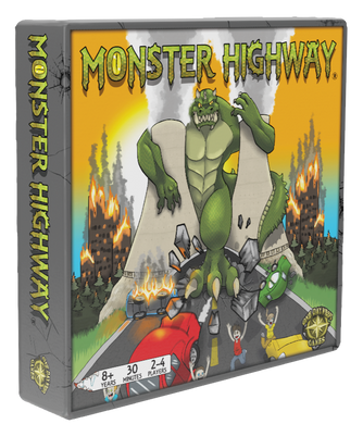 Monster Highway Family Board Game - Kickstarted Games