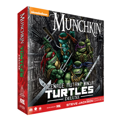 Munchkin Deluxe Teenage Mutant Ninja Turtles | Steven Jackson Games - Kickstarted Games