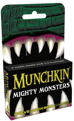 Munchkin Mighty Monsters Stand-Alone Card Game | Steven Jackson Games (PREORDER) - Kickstarted Games