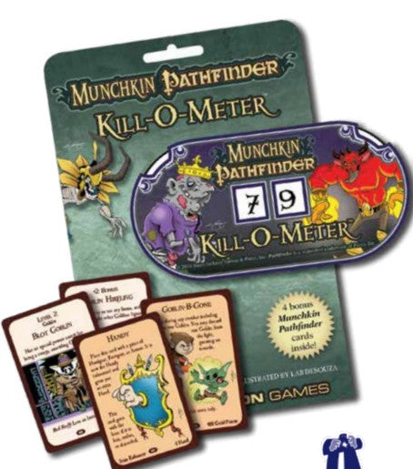 Munchkin Pathfinder Kill O Meter Point Counter - Kickstarted Games