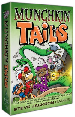 Munchkin Tails Card Game (PREORDER) - Kickstarted Games