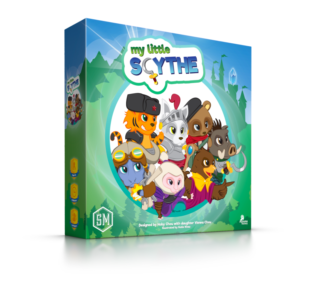 My Little Scythe Board Game | Stonemaier Games - Kickstarted Games