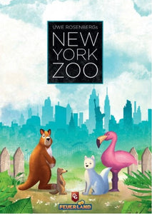 New York Zoo Board Game (PREORDER) - Kickstarted Games