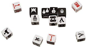 Ninja Dice Combat Dice Game - Kickstarted Games