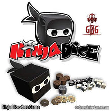Load image into Gallery viewer, Ninja Dice Combat Dice Game - Kickstarted Games