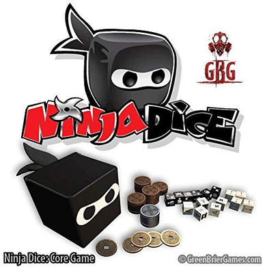 Ninja Dice Combat Dice Game | GreenBriar Games - Kickstarted Games