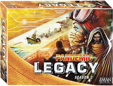 Pandemic: Legacy Season 2 - Yellow | Zman Games - Kickstarted Games