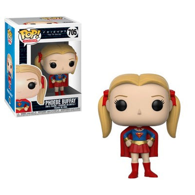 Funko Pop! Friends Series 2 - Phoebe As Supergirl Collectible Figure - Kickstarted Games