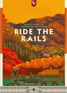 Iron Rail # 2 Ride The Rails Board Game (PREORDER) - Kickstarted Games