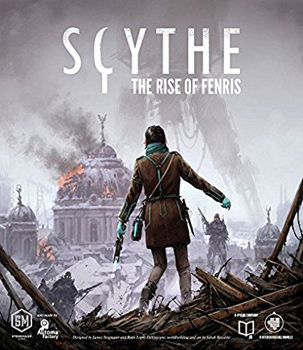 Scythe Expansion Rise Of Fenris | Stonemaier Games - Kickstarted Games