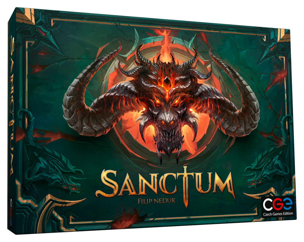 Sanctum Board Game | Czech Games Editions | Hack & Slash Genre (PREORDER) - Kickstarted Games
