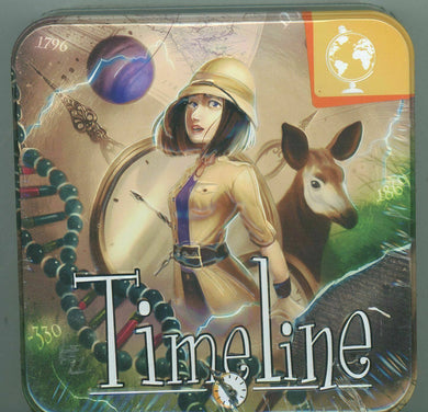 Timeline Game Expansion Science and Discoveries Card Tin | Asmodee - Kickstarted Games