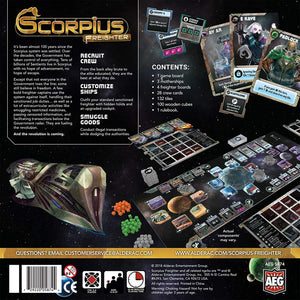 Scorpius Freighter Board Game - Kickstarted Games