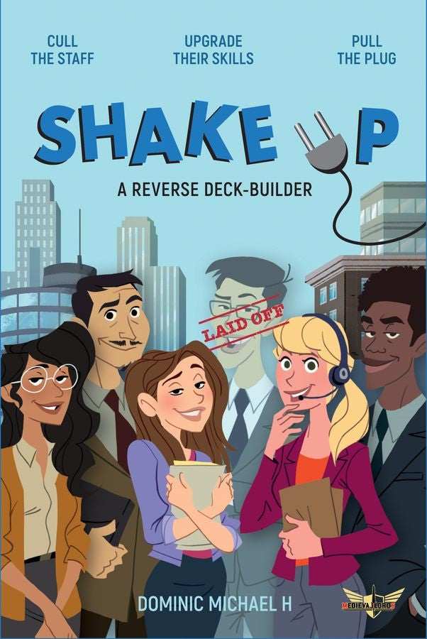 Shake Up Reverse Deck-Building Game - Kickstarted Games