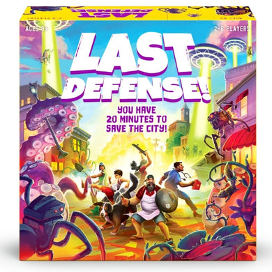 Last Defense Board Game - Kickstarted Games