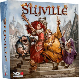 Slyville Board Game - Kickstarted Games
