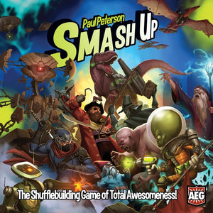 Smash Up Core Shufflebuilding Card Game - Kickstarted Games