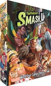 Smash Up Expansion World Tour Culture | AEG Games - Kickstarted Games