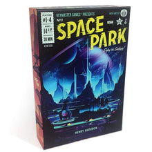 Load image into Gallery viewer, Space Park Sci-Fi Board Game by Henry Audubon | Keymaster Games - Kickstarted Games