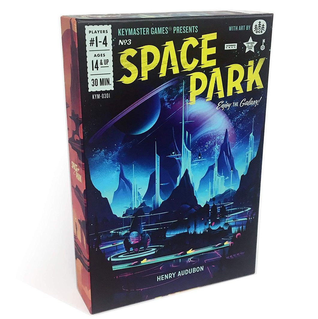 Space Park Sci-Fi Board Game by Henry Audubon | Keymaster Games - Kickstarted Games