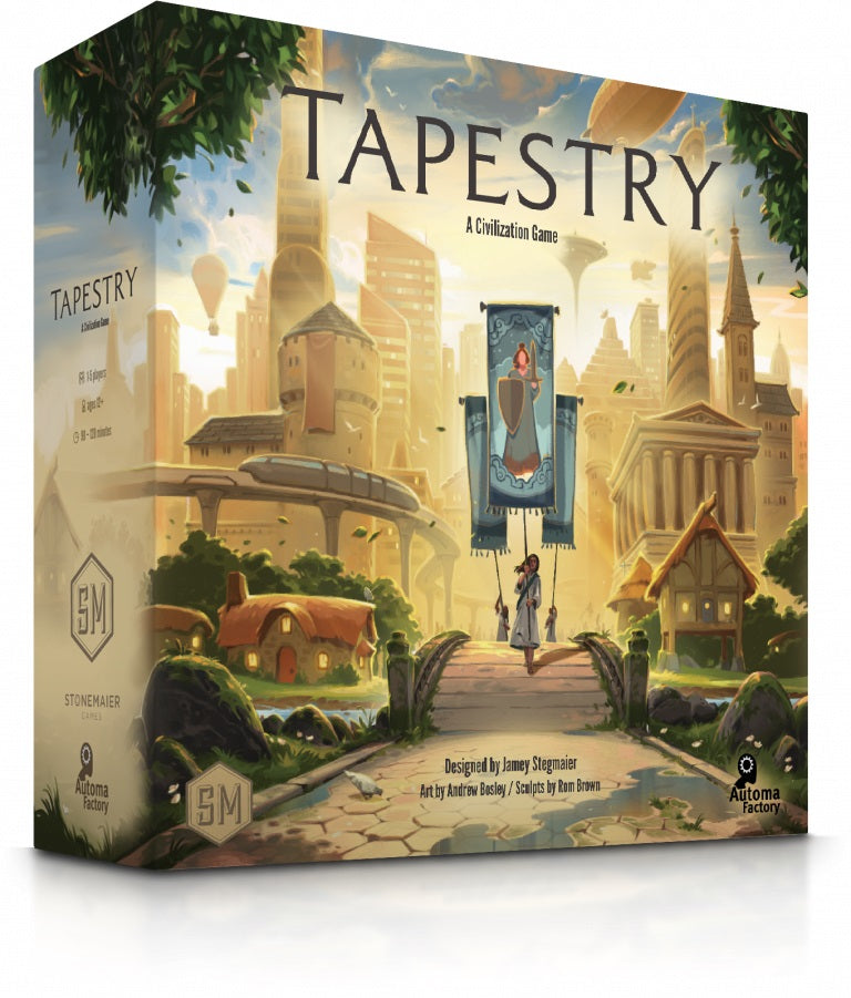 Tapestry Board Game | Stonemaier Games - Kickstarted Games