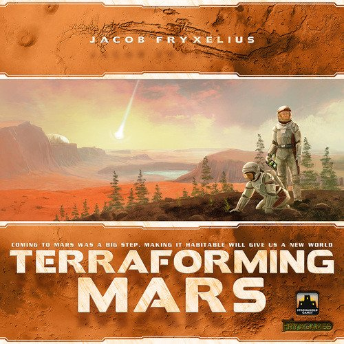 Terraforming Mars Board Game by Jacob Fryxelius | PSI Games - Kickstarted Games