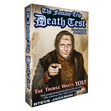 The Fantasy Trip Expansion Death Test - Kickstarted Games