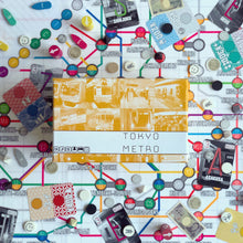 Load image into Gallery viewer, Tokyo Metro Board Game - Kickstarted Games