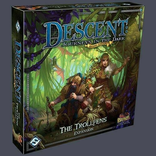 Descent Journeys in the Dark 2nd Ed: The Trollfens Expansion - Kickstarted Games