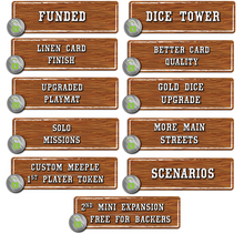 Load image into Gallery viewer, Tumble Town: the Dice Stacking Spatial Puzzle Game Kickstarter Edition - Kickstarted Games