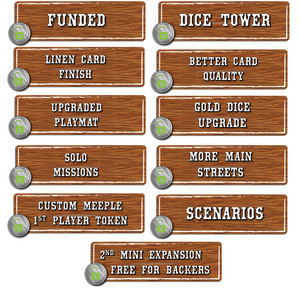 Tumble Town: the Dice Stacking Spatial Puzzle Game Kickstarter Edition - Kickstarted Games