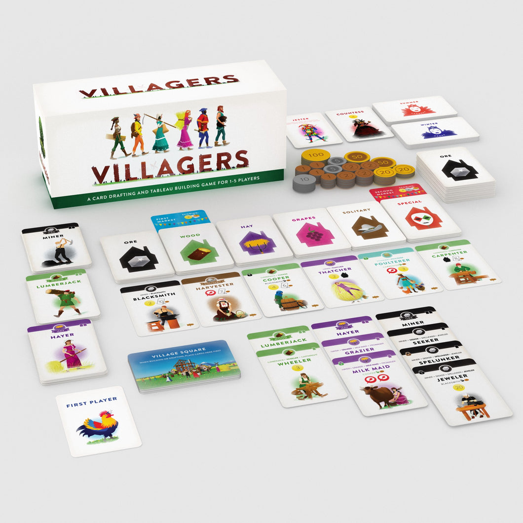 Villagers Card Game | Sinister Fish Games - Kickstarted Games