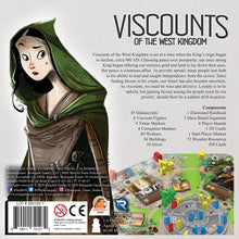 Load image into Gallery viewer, Viscounts of the West Kingdom Board Game - Kickstarted Games
