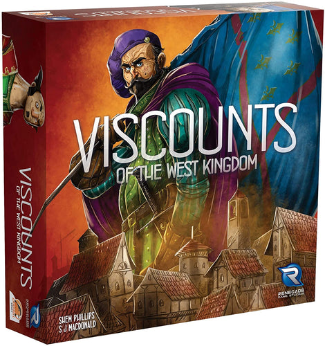 Viscounts of the West Kingdom Board Game - BLACK FRIDAY BLOWOUT - Kickstarted Games