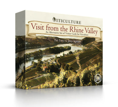 Viticulture Expansion: Visit from the Rhine Valley - Kickstarted Games