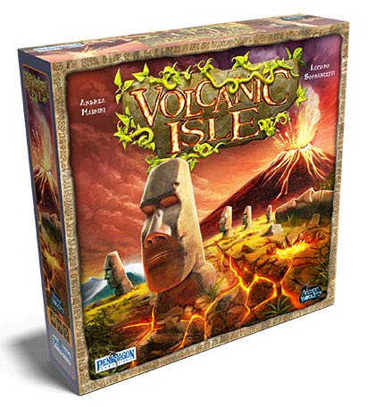 Volcanic Isle Board Game | Arcane Wonders - Kickstarted Games