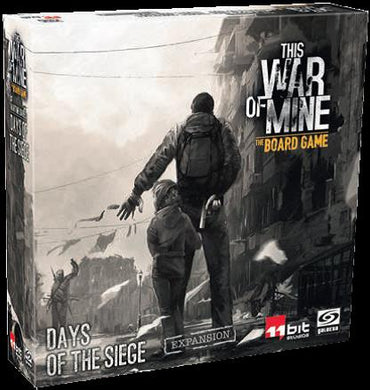 This War of Mine Board Game Wartime Diaries: Days of the Siege Expansion - Kickstarted Games