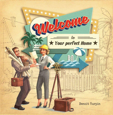 Welcome To Your Perfect Home 2nd Edition - Kickstarted Games